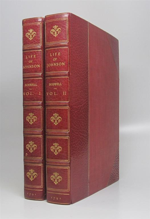 The Life of Samuel Johnson, Comprehending an account of his studies and numerous works, in chronological order; A series of his epistolary correspondence and conversations with many eminent persons; and various original pieces of his composition, never before published. James BOSWELL.