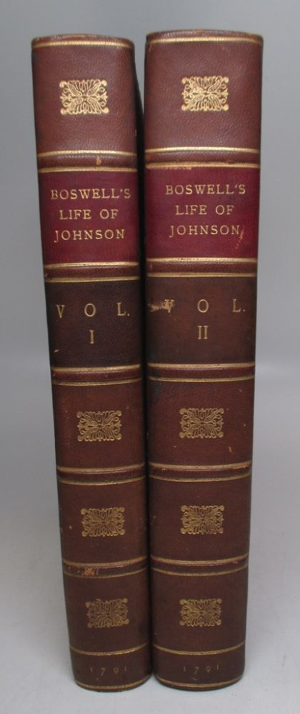 The Life of Samuel Johnson, Comprehending an Account of His Studies and Numerous Works, in Chronological Order. James BOSWELL.