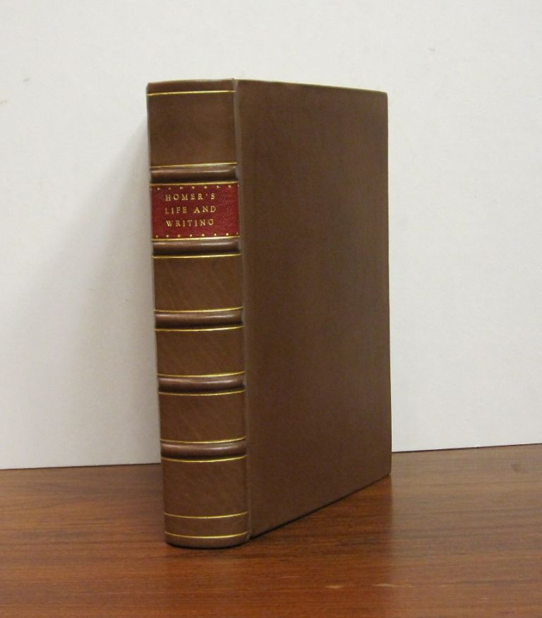 An Enquiry into the Life and Writings of Homer. HOMER.