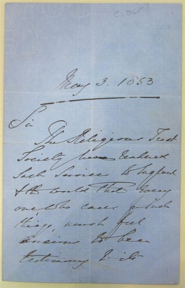 """Autographed Letter Signed """"Shaftesbury"""" Lord - Anthony Ashley-Cooper SHAFTESBURY."""