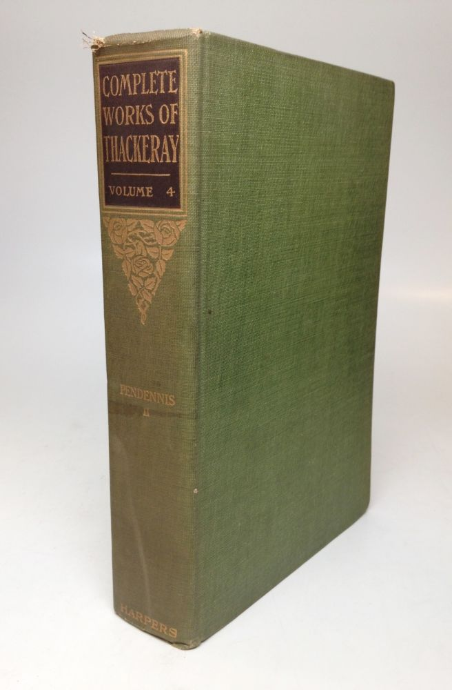 The Complete Works of William Makepeace Thackeray. William Makepeace THACKERAY.
