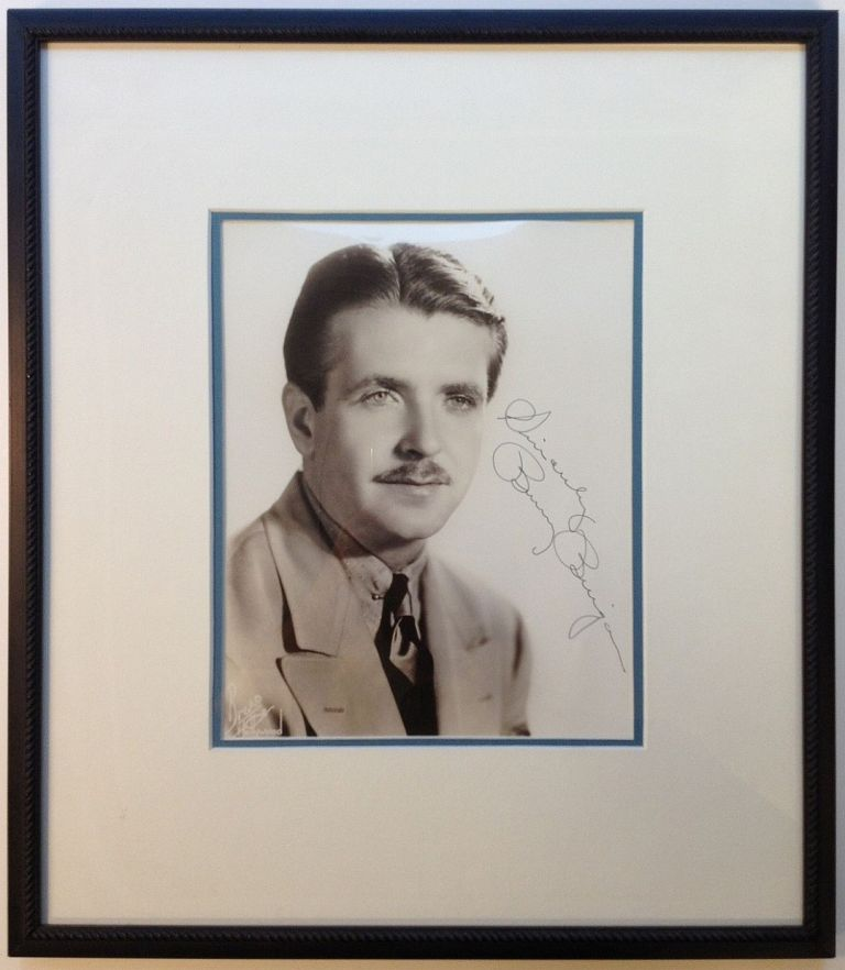 Framed Inscribed Photograph. Bunny BERIGAN, 1908 - 1942.