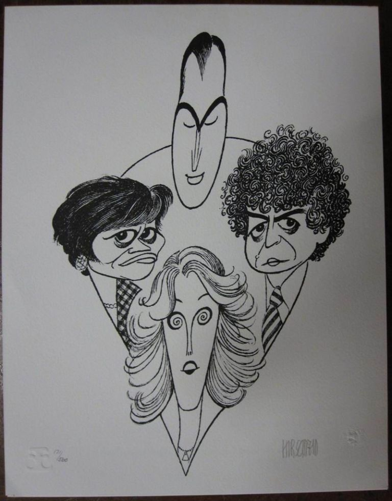Signed Lithograph. Al HIRSCHFELD, 1903 - 2003.