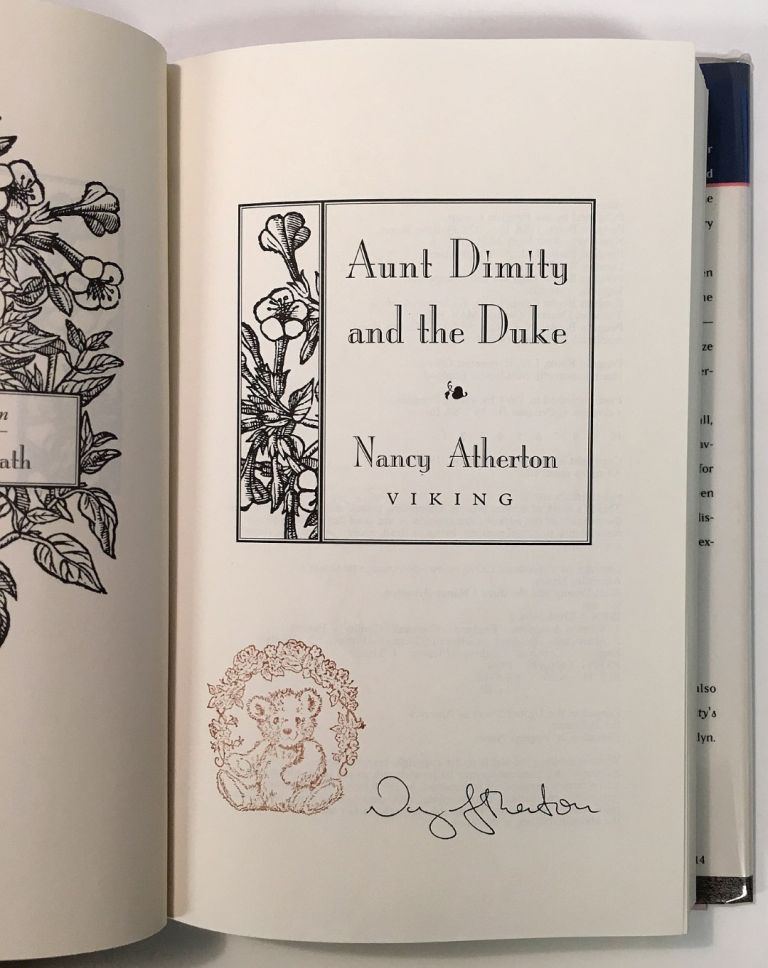 Aunt Dimity and the Duke. Nancy ATHERTON.