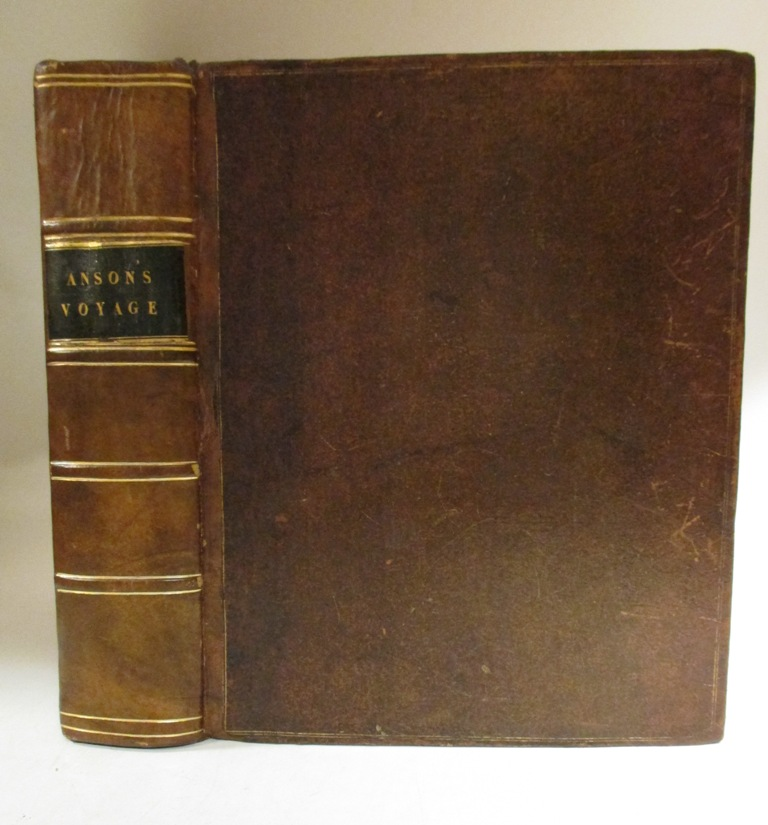 A Voyage Round the World, In the Years MDCCXL, I, II, III, IV. George ANSON.