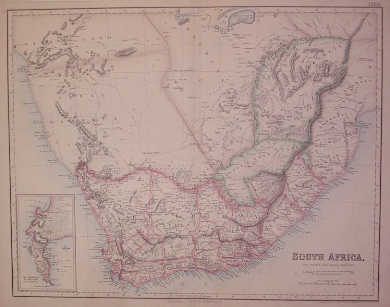 South Africa. From Official & other authentic Authorities. Archibald FULLARTON.