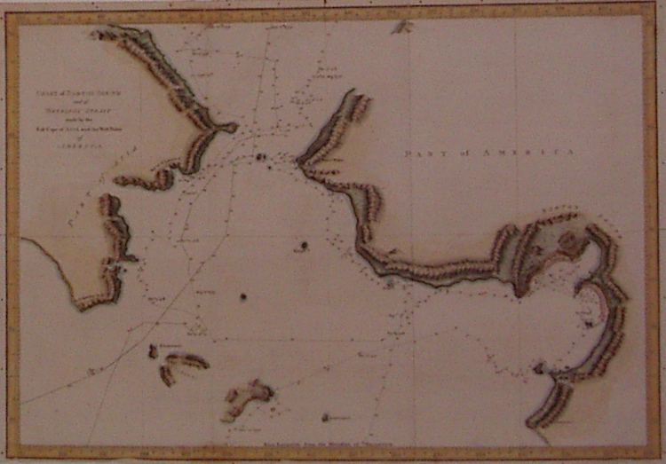 Chart of Norton Sound and of Bherings Strait made by the East Cape of Asia and the West Point of America. Alexander HOGG.