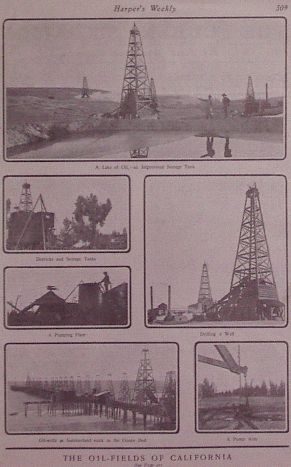 The Oil-Fields of California. HARPER'S WEEKLY.