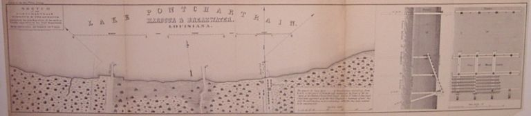 Sketch of the Pontchartrain Harbour & Breakwater exhibiting the plan & position of the work as finally approved by the Engr. Department. WAGNER, MCGUIGAN.