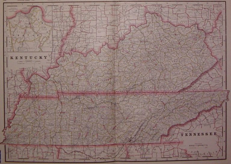 Kentucky and Tennessee. George F. CRAM.