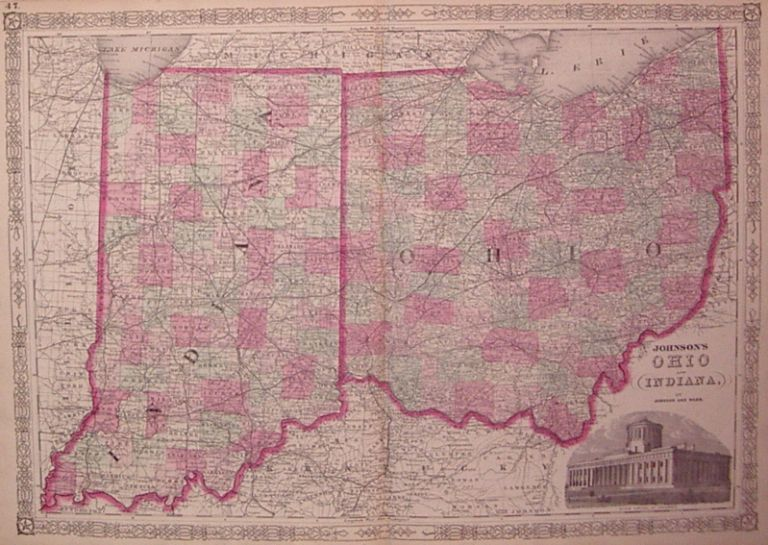 Johnson's Ohio and Indiana, JOHNSON, WARD.