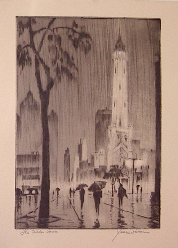 The Water Tower. James SWANN.