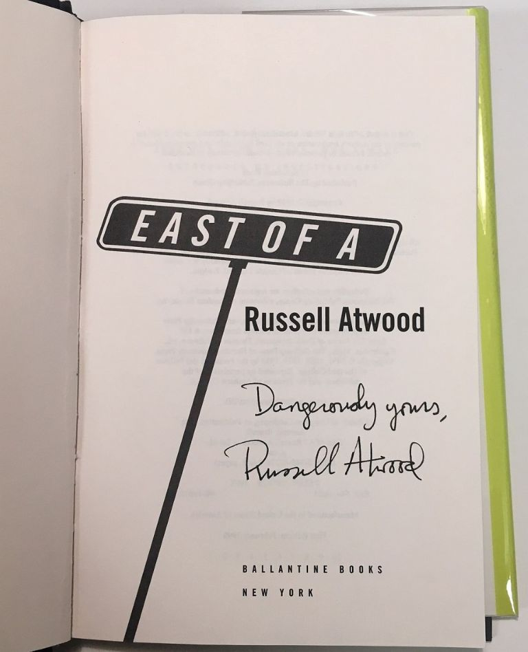 East of A. Russell ATWOOD.