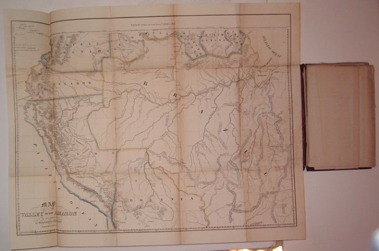 Herndon's Valley of the Amazon Maps. Part I. William Lewis HERNDON.