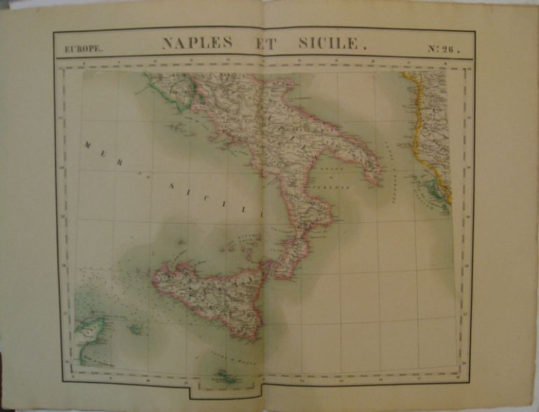 Naples et Sicile. Europe. No. 26. Phillippe Marie VANDERMAELEN.