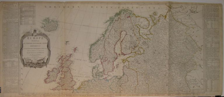Europe Divided into its Empires, Kingdoms, States Republics, &c. By Thomas Kitchin, Hydrographer to The King, with many Additions and Improvements from the latest Surveys and Observations. Thomas KITCHIN.