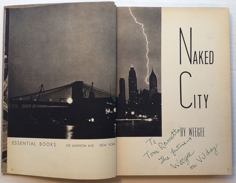 Naked City. WEEGEE.