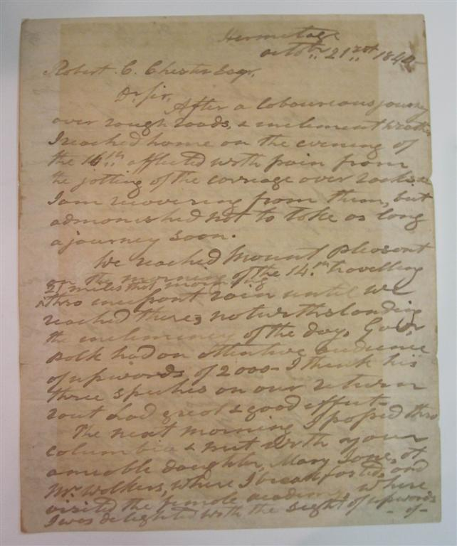 Lengthy Autographed Letter Signed. Andrew JACKSON, 1767 - 1845.