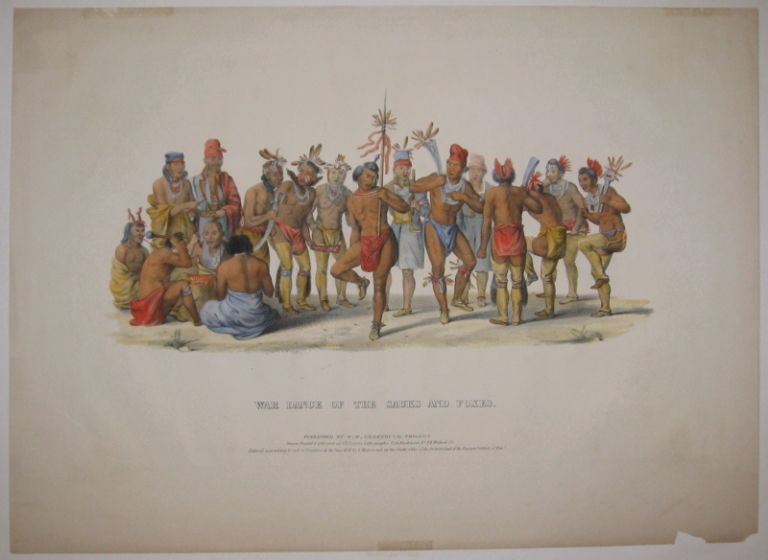 War Dance of the Sauks and Foxes. Thomas L. MCKENNEY, James HALL.