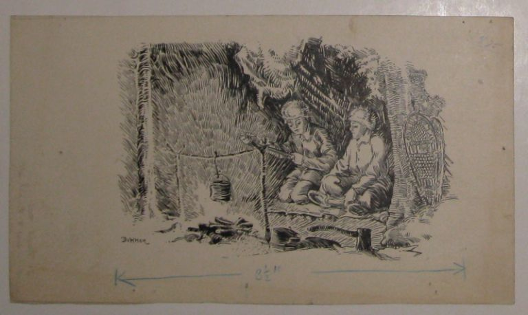 Untitled (At Camp Number Two). Horace Boylston DUMMER.