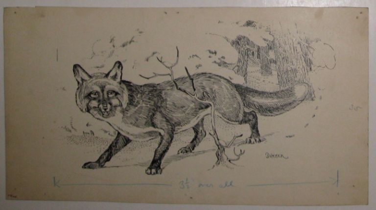 Untitled (The Red Fox). Horace Boylston DUMMER.