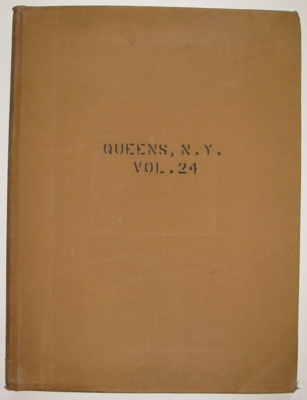Vol. 24 of 29 Atlases of Insurance Maps for Queens. Flushing Heights & Jamaica. SANBORN MAP COMPANY.