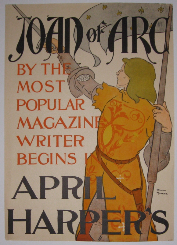 Joan of Arc by the Most Popular Magazine Writer begins in April Harper's. Edward PENFIELD.