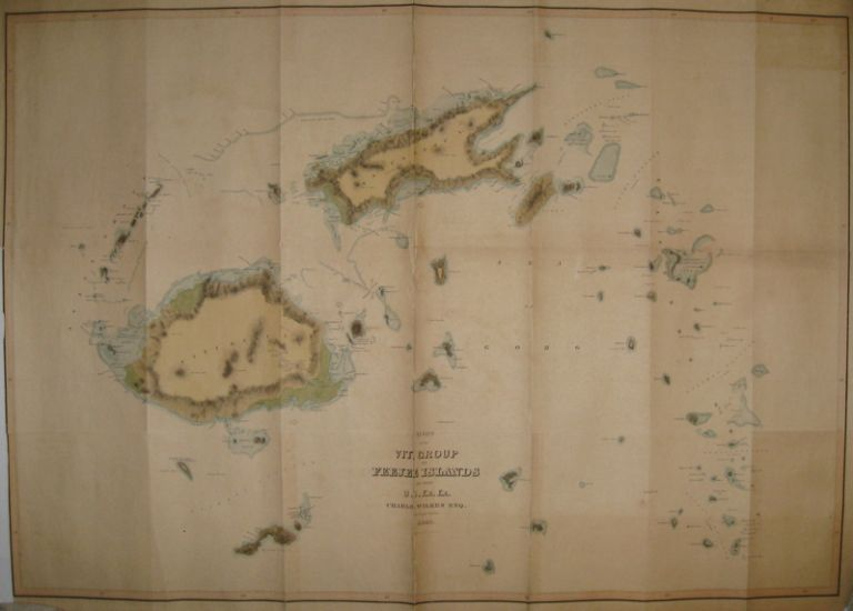 Chart of the Viti Group or Feejee Islands. Charles Esq WILKES.