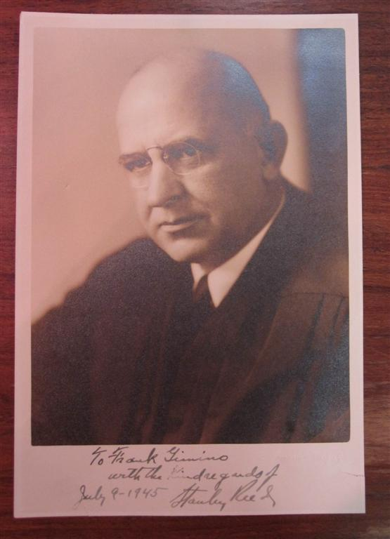 Signed Photograph. Stanley REED.