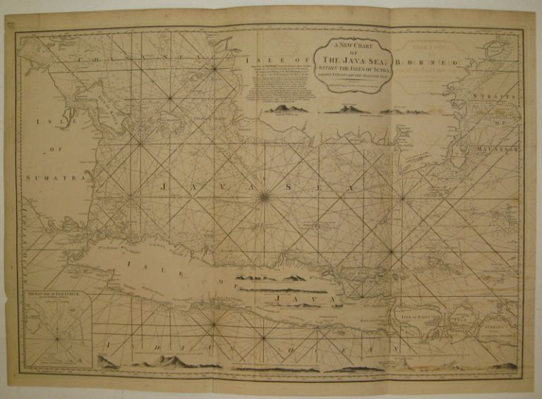 A New Chart of the Java Sea, within the Isles of Sunda; with its Straits, and the Adjacent Seas. LAURIE, WHITTLE.