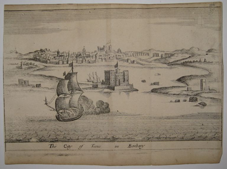 The City of Tunis in Barbary. John SELLER.