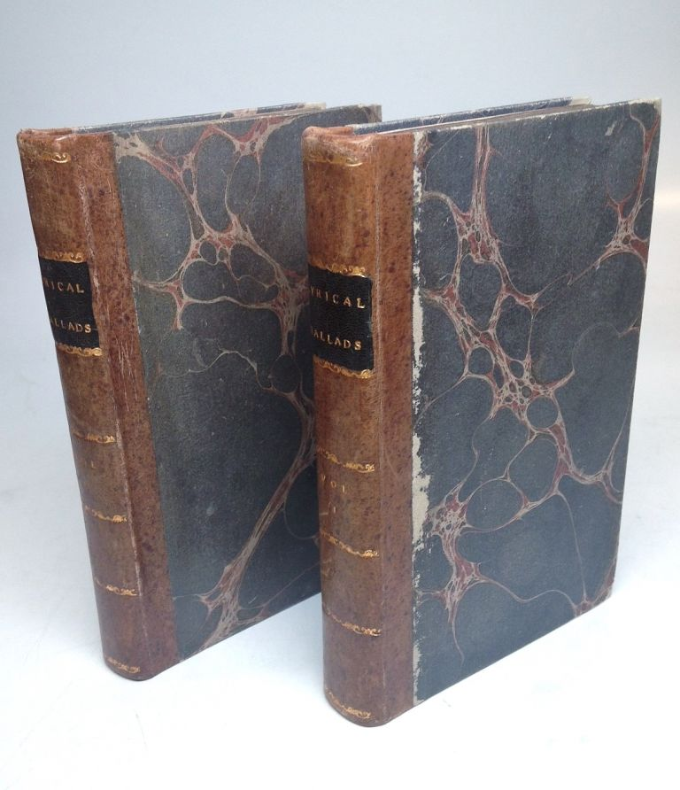 Lyrical Ballads With Pastoral and Other Poems. William WORDSWORTH.