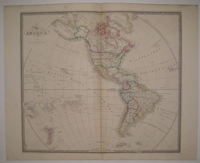 Map of America. James WYLD.