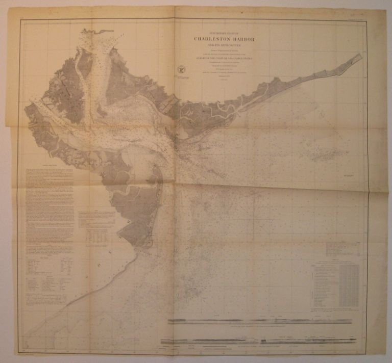 Preliminary Chart of Charleston Harbor and its Approaches. A. D. BACHE.