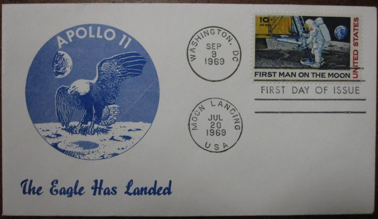 Eighteen First Day Covers. APOLLO SPACE PROGRAM.