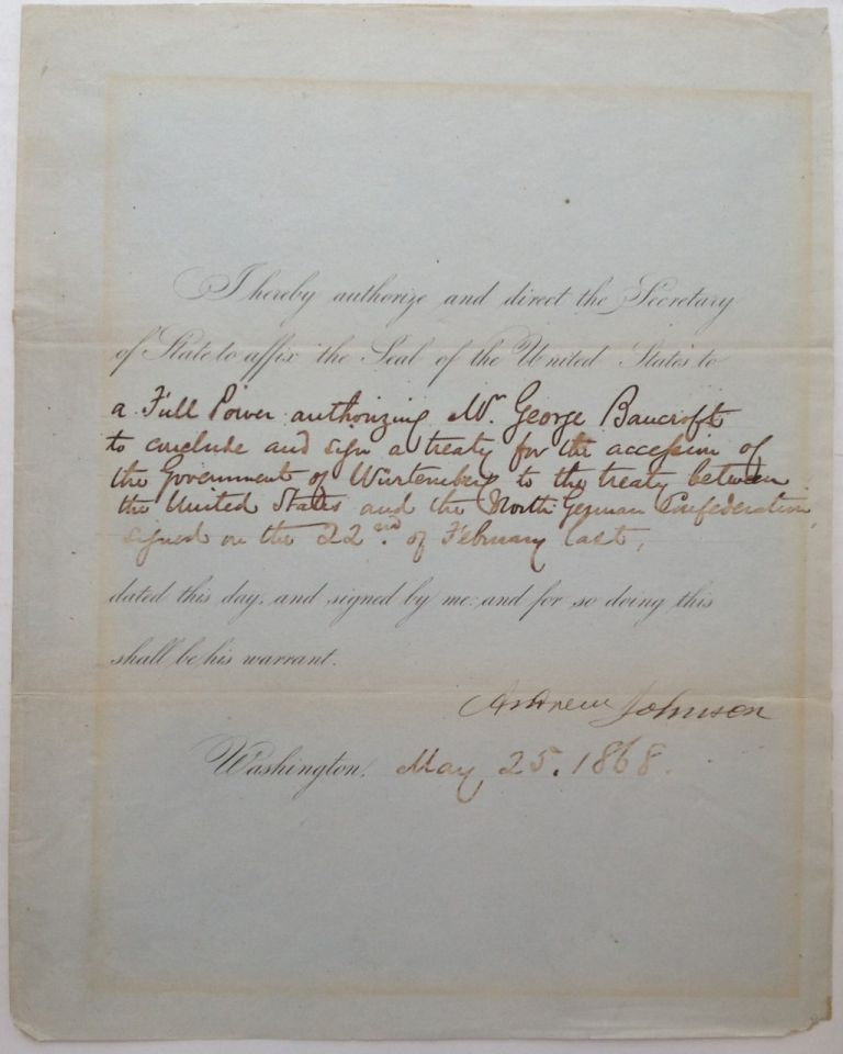 Document Signed As President