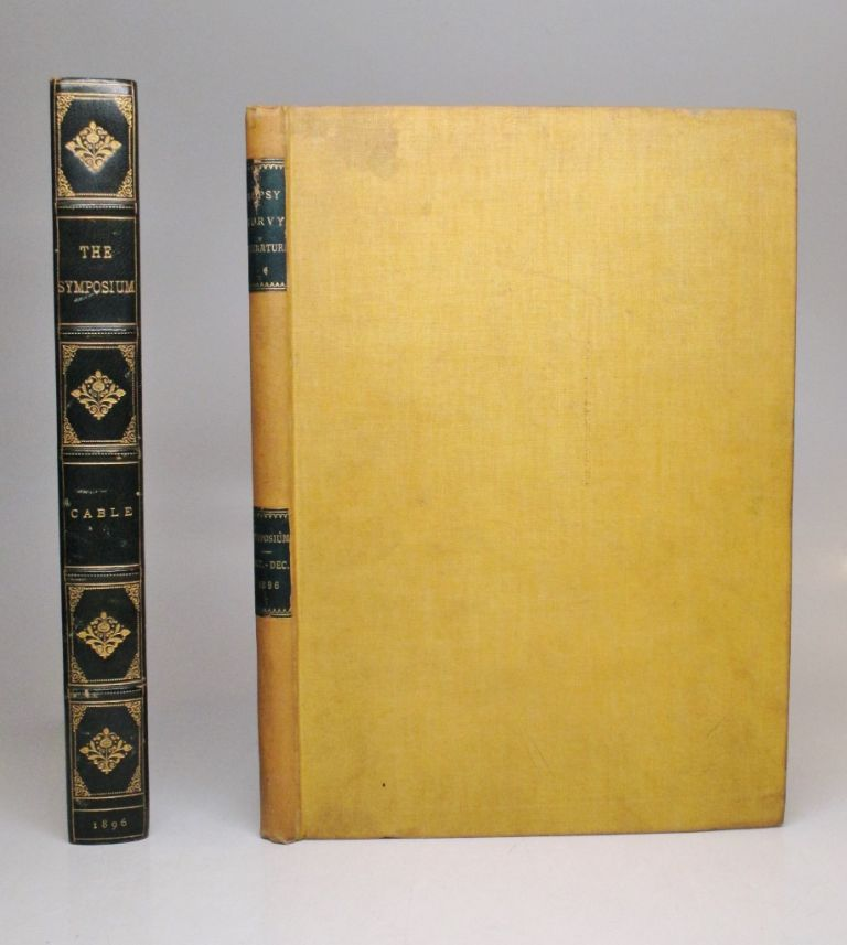The Symposium: Vol I, nos. 1-3. George W. CABLE, Will BRADLEY.