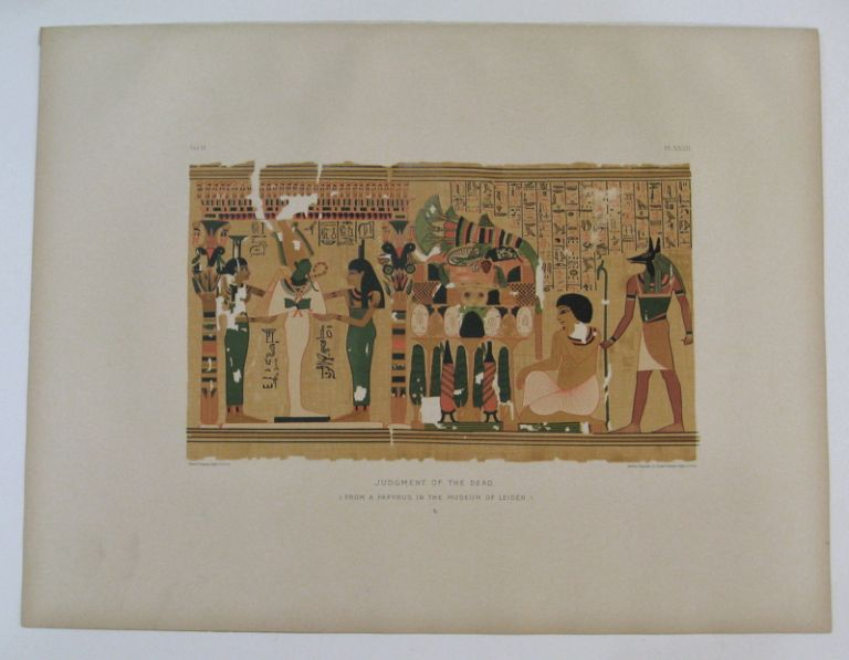 Judgment of the Dead. (From a Papyrus in the Museum of Leiden.) b. Samuel Augustus BINION.