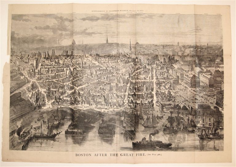 Boston After the Great Fire. HARPER'S WEEKLY.