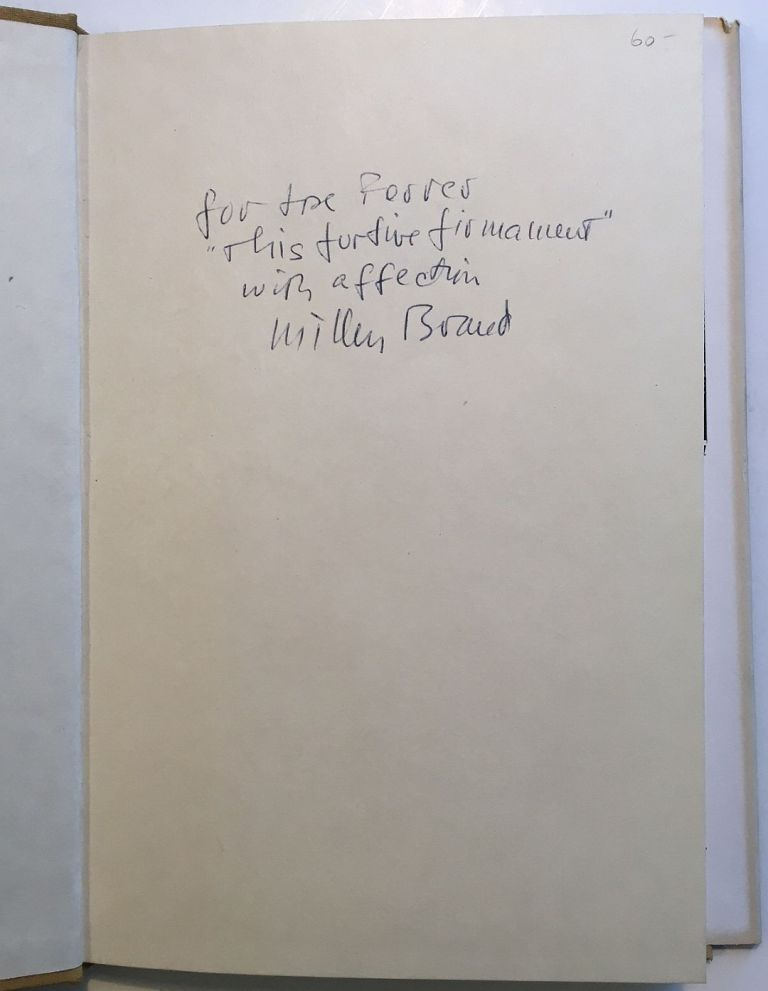 Dry Summer in Provence: Poems of a Place. Millen BRAND.
