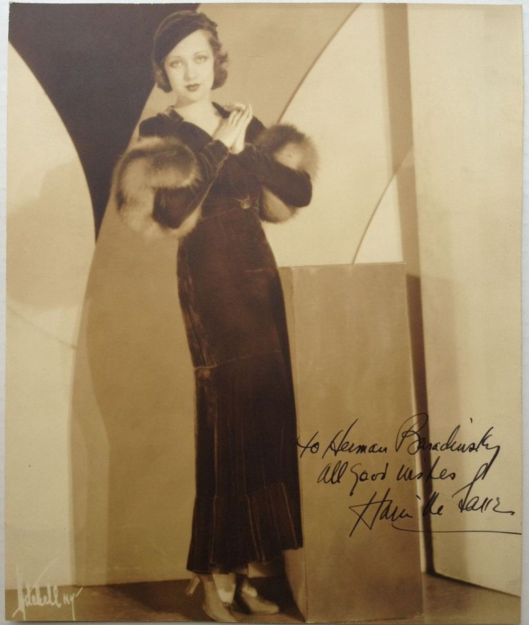 Inscribed Photograph. Ann SOTHERN, 1909 - 2001.