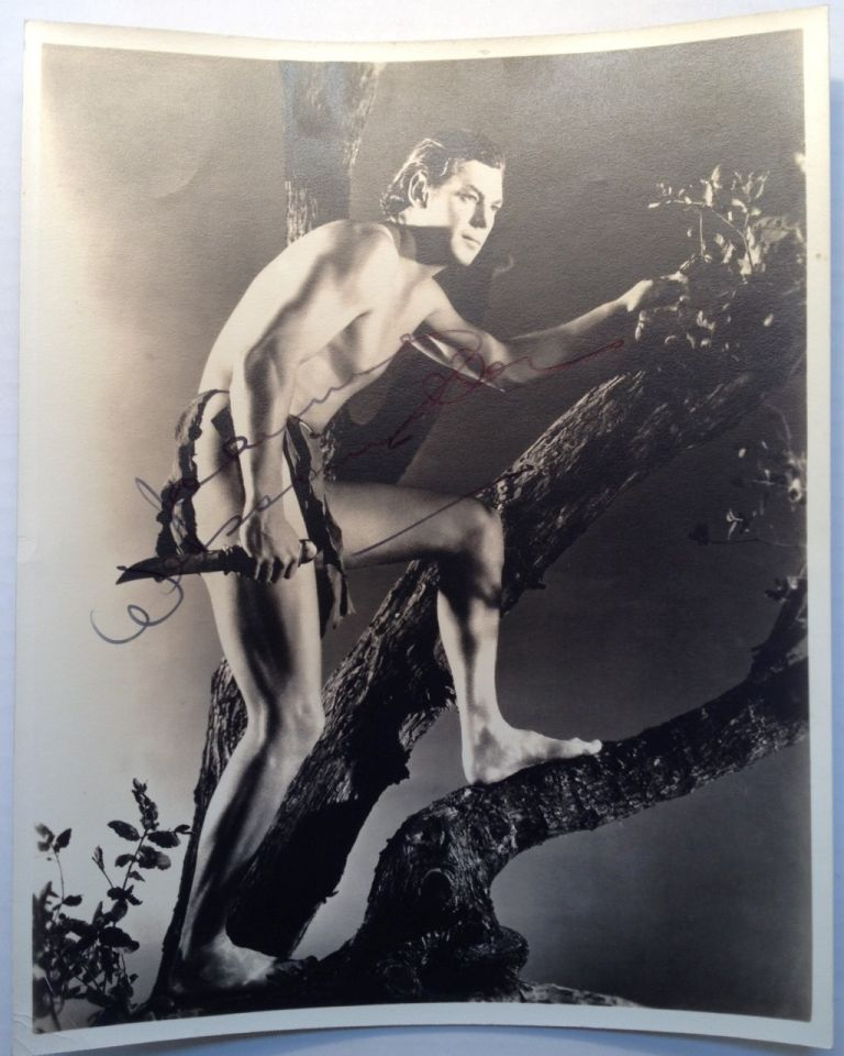 Signed Photograph. Johnny WEISSMULLER, 1904 - 1984.