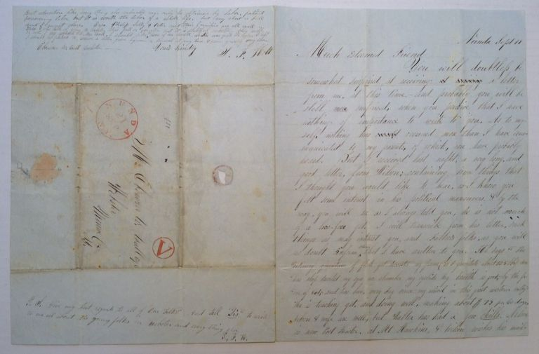 Autographed Letter Signed. MEXICAN WAR.