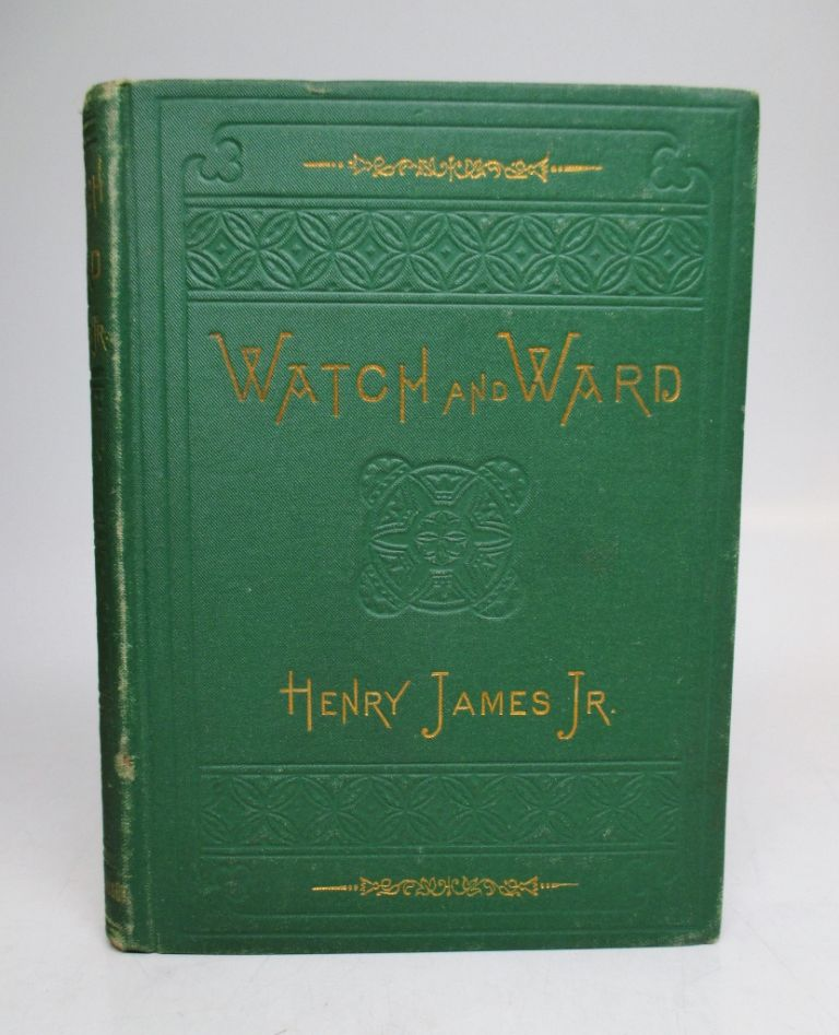 Watch and Ward. Henry JAMES.