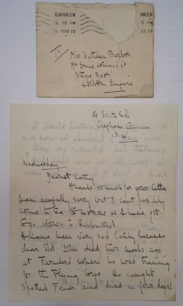 Autographed Letter Signed regardring the death of a mutual friend. Noel COWARD, 1899 - 1973.
