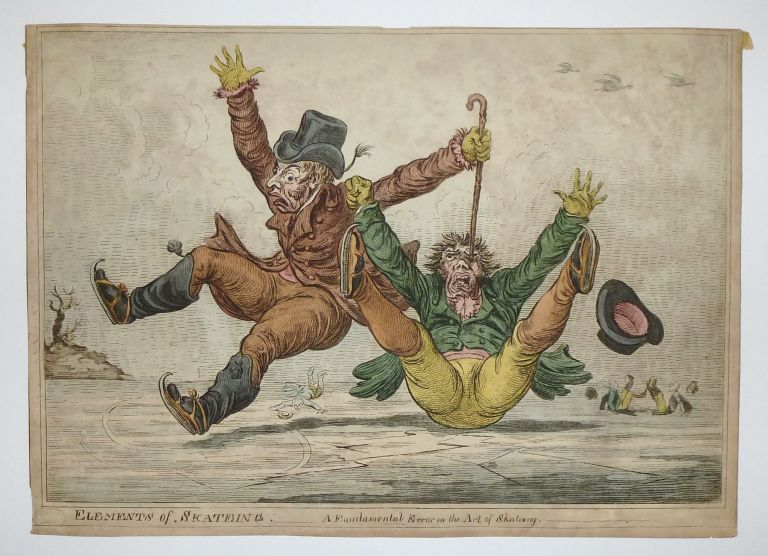 Elements of Skateing. A Fundamental Error in the Art of Skateing. James GILLRAY.