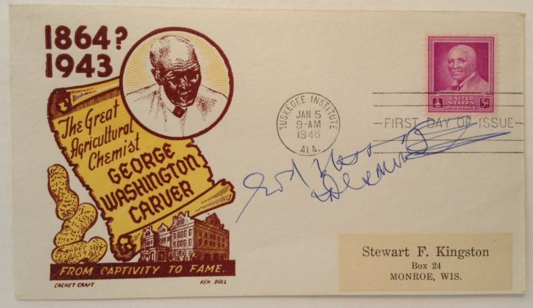Inscribed First Day Cover. Desmond TUTU, 1931 -.