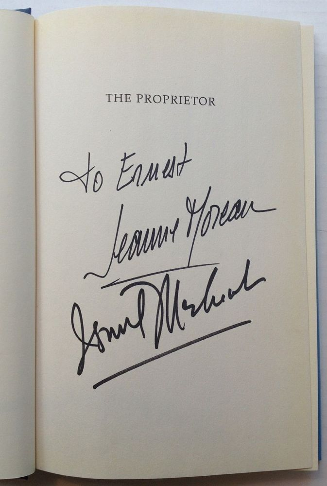 The Proprietor: The Screenplay and Story Behind the Film. Ismail MERCHANT.