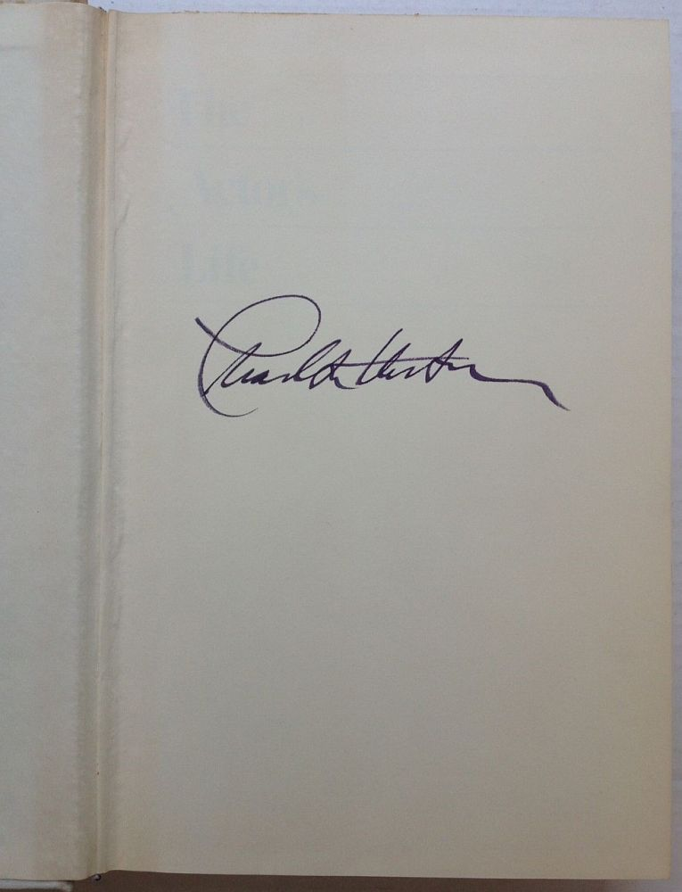 The Actor's Life: Journals 1956-1976. Carlton HESTON.