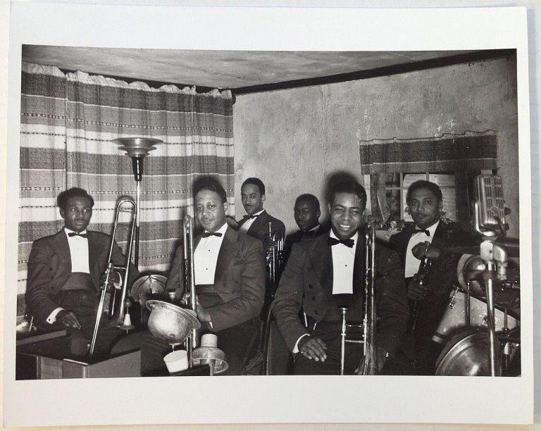 Early Photograph. COUNT BASIE BRASS SECTION.